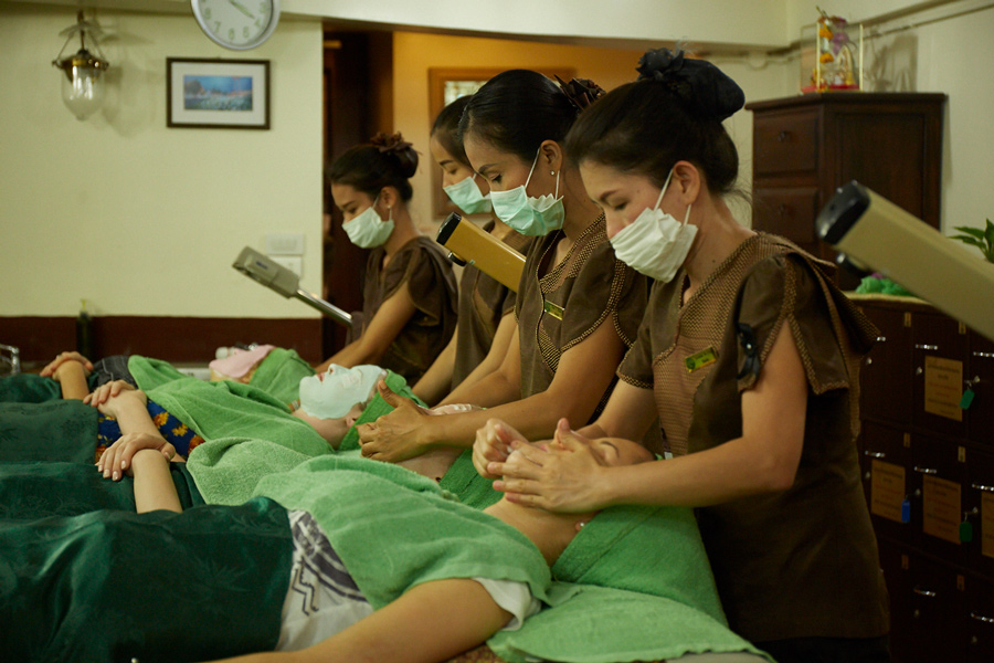 Face Treatment with Masks